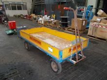 1m x 2m Manual Tow Trolley