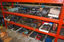 Shelves of Assorted Screw Machi