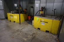 Lot of Saf-Tainer Poly Tanks c/