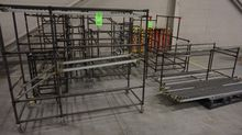 Lot of Portable Conveyor Rackin