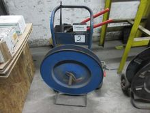 Uline 2 Wheel Banding Cart