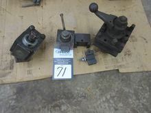 Lot Assorted Tool Post Tool Hol