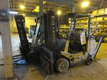 TMC Out of Service Forklift Tru