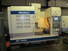 2004 Okuma MC-V4020 CNC Vertica