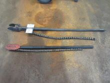 Assorted Chain Type Pipe Wrench