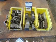 Lot Assorted Pipe Dies and Thre