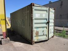20' Container with Electrical S
