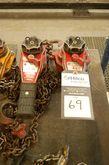 Coffing 3/4 Ton Chain Hoists