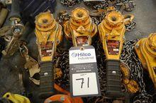 Harrington 3/4 Ton Chain Hoists