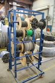 8-Rail Rolling Wire & Hose Stor