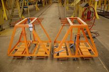 Vertical Rolling Inventory Cart