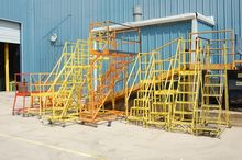 Lot Rolling Steel Safety Platfo