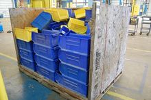 Lot Plastic Storage Bin