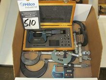 Assorted Micrometers