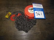 Used 1-Ton Chain Hoi