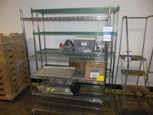 Wire Mesh Storage Shelves