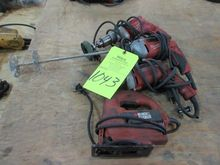Lot Electric Hand Tools