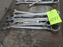 Lot Large Combination Wrench