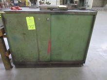 Lot (2) Door Storage Cabinet