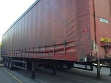 1998 SDC Tri-Axle Curtainsider