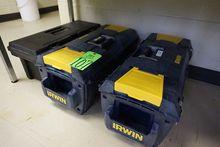 Lot of Asst. Irwin Tool Box