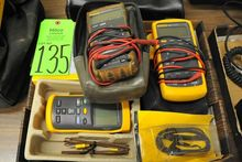 Lot of Fluke 83 & 77 Multimeter
