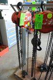 Cyclone CM 1-Ton Chain Hoist