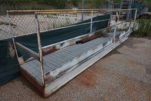 16' Long Steel Grated Walkway P