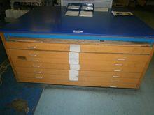 Six Drawer Plan Cabinet