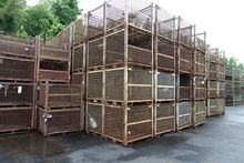 3,000 - Stackable Wire Baskets