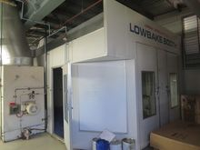 1994 Lowbake Spray Booth & Oven