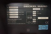 2011 Deckel Maho DMC 635V CNC V