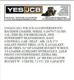 2011 JCB 3CX 14