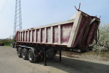 Tipper semi-trailer Ackermann-F