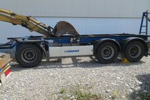 20 'containers drawbar trailer