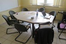 trapezoidal tables