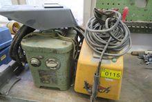 Electrode welding equipment