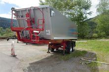 2-axle semitrailer tipper semi-