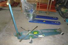 1997 Workshop car lifter Pfaff