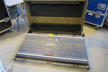 Casebox with mixing console