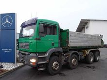 2005 MAN 35.410 8x4 tipper with