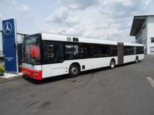 2003 MAN A23 articulated bus MD