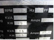 61 kva Stonar generator