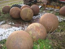 Steel balls - ø 700 mm - 25 pcs