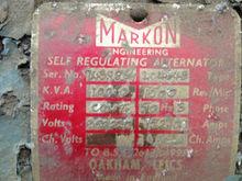 100 kva Perkins V8 gen set - 51