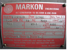 Markon LC31A generator