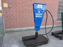 Krupp MH551 hydr. hammer