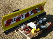 Front Mounted 1.25m Snowplough