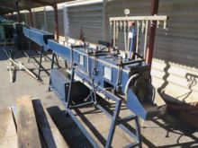 PE pipe extrusion line consists
