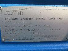 Biaxial shredder, Satrind brand
